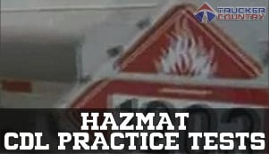 image regarding Cdl Hazmat Practice Test Printable named No cost CDL Damaging Supplies Train Assessments Trucker Region