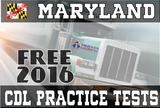 Maryland CDL Practice Tests